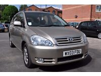 GOLD TOYOTA VERSO 2 LITRE