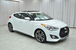 2016 Hyundai Veloster TURBO TECH ECO 4DR HATCH w/ HTD LEATHER, N