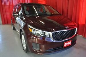 2018 Kia Sedona LX+ with Power slide doors, 8 Pass., Android Aut