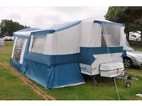 Pennine Fiesta folding camper.