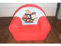 Childrens Pirate foam chair