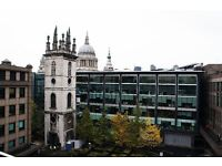 1 double bedroom in duplex apartment to rent near St Pauls