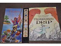 pirates, tyrannosaurus drip, pirate ship excellent books your child will love