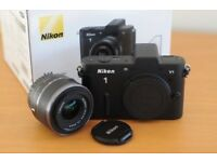Nikon 1 V1 Black Kit 10-30mm. 3.5-5.6 VR. Absolutely As Brand New And Totally Blemish Free.