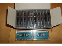Banner mini cassette tapes (12) brand new!!