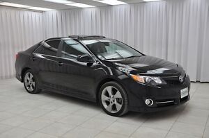 2012 Toyota Camry SE SEDAN w/ BLUETOOTH, HTD LEATHER TRIM SEATS,