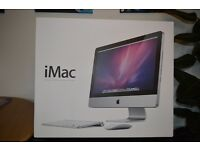 21.5-inch iMac 2.5GHz Intel Core i5 Dedicated graphic card ATI Radeon HD 6750M 512 MB GDDR5