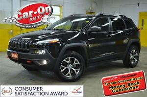 2014 Jeep Cherokee Trailhawk 4X4 LEATHER NAVIGATION