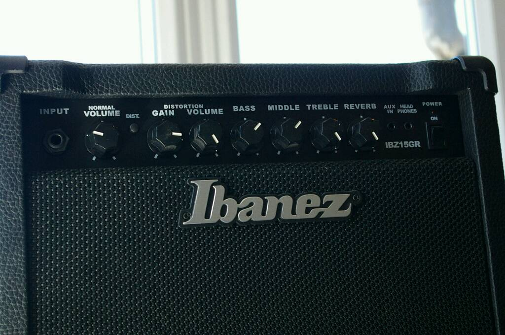 Ibanez IBZ15GR 15W Guitar Ampin Heanor, DerbyshireGumtree - Ibanez IBZ15GR 15W Guitar Amp. Barely used and it good condition. £40 no offers please