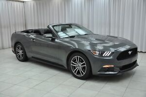2017 Ford Mustang ECOBOOST PREMIUM CONVERTIBLE COUPE w/ BLUETOOT