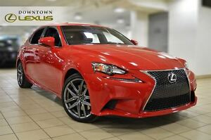 2016 Lexus IS 300 F-SPORT 2, NAV, CAMERA, ROOF, NO ACCIDENT