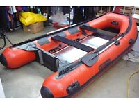 WETLINE 360 3.6M HD 5 PERSON INFLATABLE DINGHY / RIB HEAVY DUTY
