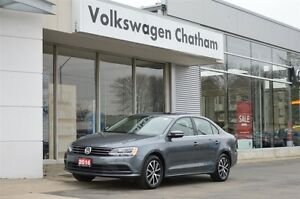 2016 Volkswagen Jetta 1.4 TSI Comfortline Heated Seats, Sunroof