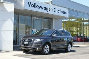 2013 Audi Q7 3.0T quattro Heated Leather, Panoramic Sunroof