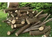 Logs/ timber/ wood for sale. Price is for the lot, both piles. Only £30