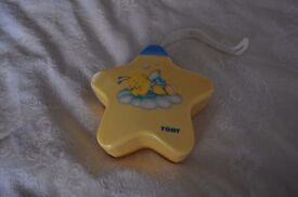 A Tomy lullaby light and sound display / projector