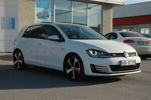 2015 Volkswagen Golf GTI 5-Door Autobahn / CUIR / JAMAIS ACCIDEN
