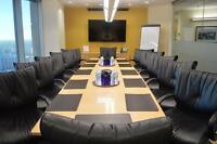 Professional meeting rooms in prestigious office building