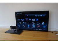 40 Inch Smart Samsung 1080p LCD/LED TV w. wall mounting bracket