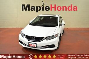 2013 Honda Civic EX| Only 22,870 KM, Backup Cam, Sunroof!