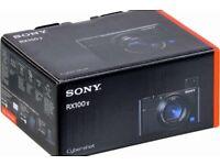 NEW SEALED SONY CYBERSHOT RX100 V (M5) 20.1MP CAMERA