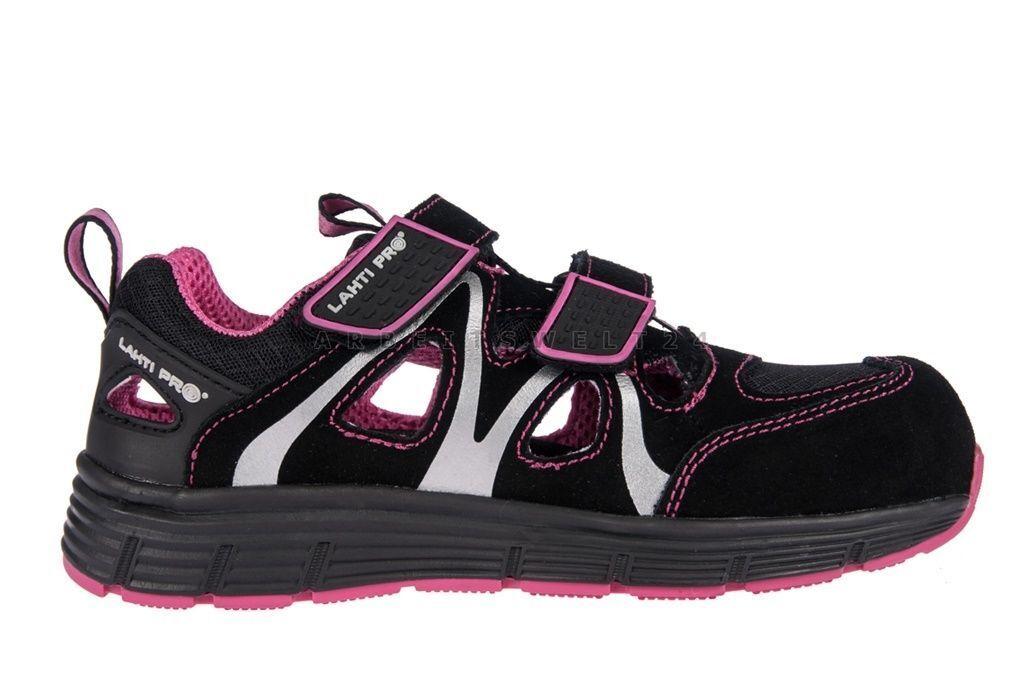 Damensicherheitsschuhe  Arbeitsschuh LAHTI PRO L30604 Sicherheitssandale Sandale