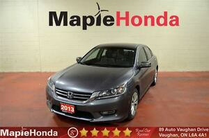 2013 Honda Accord EX-L| Leather,Sunroof,Alloys,Rear-Cam, Bluetoo
