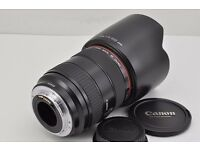 Canon EF 28-70mm F2.8L USM AF Zoom Lens for EOS EF Mount with Hood