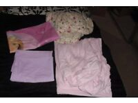 SELECTION OF GIRLS ASSORTED SINGLE BEDDING