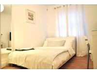 Large double bedroom available in private gated flat near Bermondsey Street