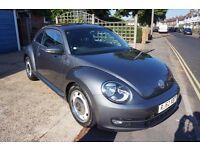 VW Beetle 2.0l Diesel. 62 Plate. Automatic. 36300 miles.