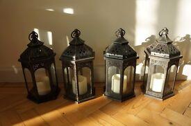 Four Beautiful Electric Lanterns