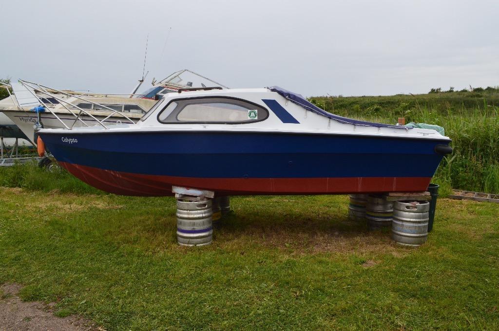 16ft shetland type fishing boat in shoeburyness essex for Fishing boat types