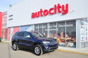 2016 Jeep Grand Cherokee Limited 4X4 Leather Sunroof Back-up Cam