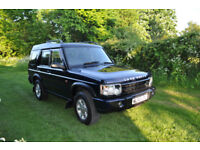LANDROVER DISCOVERY 2 TD5 7 SEATER 2002