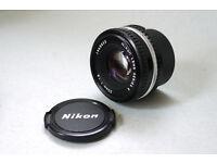nikon 50mm f1.8 lens pancake dslr micro 4/3rds