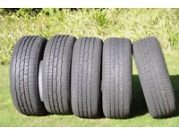 215 x 55 x 17 Five Continental Winter tyres