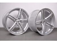 """19"""" Staggered OEMS 120 Alloy Wheels and tyres will fit an E90, E91, E92, E93 BMW 3 Series"""