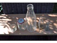 Old Wickham milk bottle