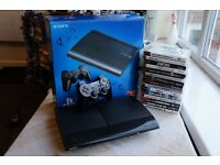 Sony Playstation 3 Controller 15 games HDMI Original Box Cheap Bundle