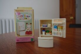 Sylvanian Familes Refrigerator Set Boxed and complete