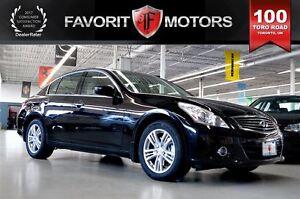 2011 Infiniti G25X Luxury AWD | LTHR | BACK-UP CAM | MOONROOF