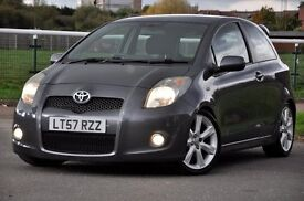 2007 Toyota Yaris 1.8 VVT-i SR 3dr JUST SERVICED+TEIN COILOVER SUSPENSION KIT+SPORT