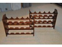 Mahogany Wine Racks