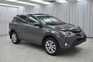 2013 Toyota RAV4 LIMITED AWD SUV w/ HEATED LEATHER, DUAL CLIMATE