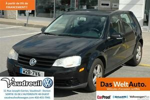 2008 Volkswagen City Golf + A/C + GROUPE ÉLEC. + MAG + CRUISE +