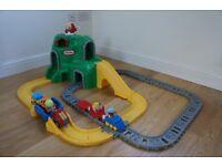 Little Tikes train/road set