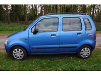 ****Bright and Sunny 2001 Suzuki Wagon GL with Sunroof, cheap fuel, low insurance and tax.