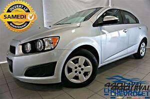2012 Chevrolet Sonic LS AUTOMATIQUE AVEC 38 500 KM  ** OUVERT LE