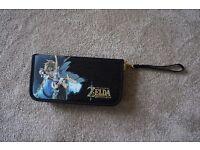 USED ONCE - Nintendo Switch Zelda Zipper Case